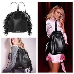 Victoria Secret Fringe Backpack